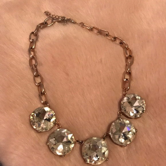 Express Jewelry Rose Gold Statement Necklace Poshmark